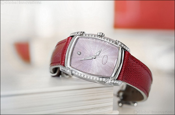 Delightful Duo Of Elegant Timepieces Make For A Special Valentine Day's Gift'