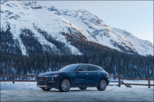 Maserati Premieres the New  Levante Royale Special Series  The Snow Polo World Cup in St. Moritz