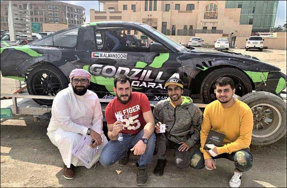 Sulayem Guides Drifting to New Level in UAE