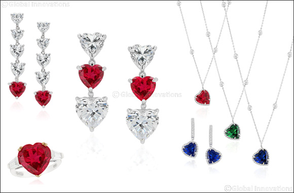 Wear Your Heart On Your Sleeve This Valentine's Day  With DANI by Daniel K's Selection Of  Heart Shape and Eternity Inspired Jewels