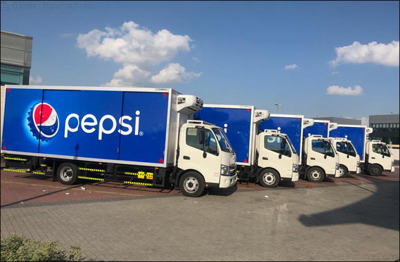 150 HINO Trucks Join Dubai Refreshment PJSC – Local Pepsico Bottler