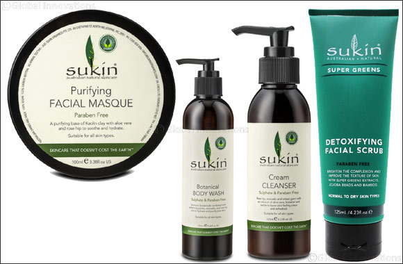 Prep for Valentine's Day with Sukin®