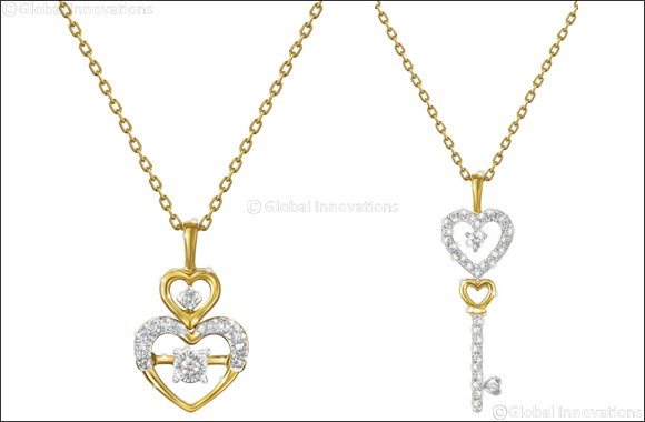 Pure Gold Jewellers Launches Romantic Heart Themed Pendants for Valentine's Day