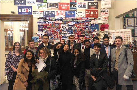 NYU Abu Dhabi Students Experience an Up-close Look at the 2020 United States Presidential Election