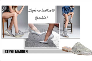 Look No Further to Sparkle - Steve Madden