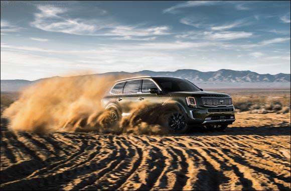 "Kia Telluride Wins ""Triple Crown"" of Prestigious Automotive Awards"