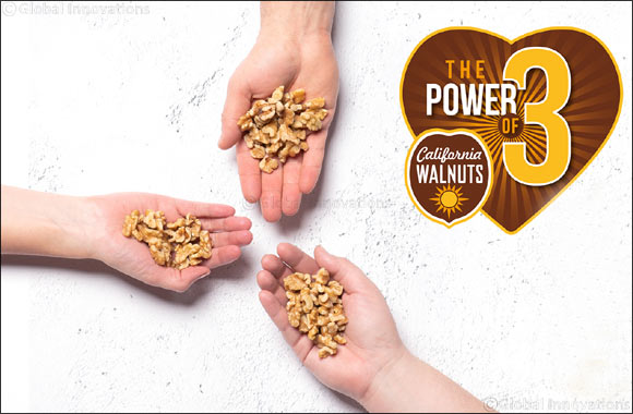"California Walnuts Launches First-Ever Global Marketing Initiative Encouraging Consumers to Embrace ""The Power of 3"""
