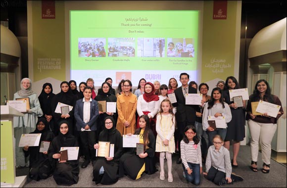 The Emirates Airline Festival of Literature Celebrates Young Winners of the 2020 OUP Story Writing Competition.