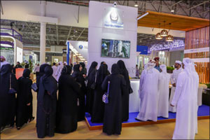 Sharjah Crown Prince Inaugurates the 22nd National Career Exhibition at Expo Centre Sharjah