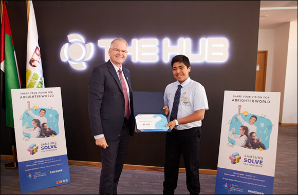 'Multipurpose Vest' from GEMS World Academy, Dubai Wins the UAE's First Solve for Tomorrow Contest