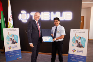�Multipurpose Vest' from GEMS World Academy, Dubai Wins the UAE's First Solve for Tomorrow Contest