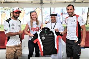 Ortendahl Makes Team Abu Dhabi Debut in Kuwait as  Al Mulla Launches Bid for Third World Title