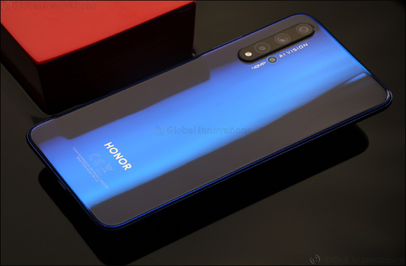 HONOR Launches the Iconic Glass Designed HONOR 20 in the UAE