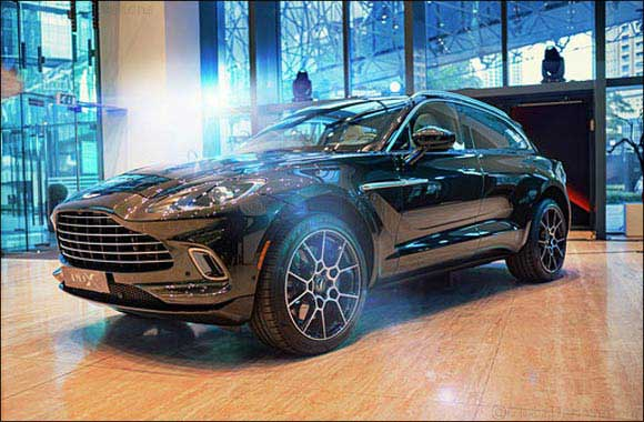 Aston Martin DBX Makes First Public Appearance in UAE