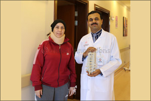 First Time in UAE, Hospital Performs Cervical Spine Surgery Using 3D Printing Technology
