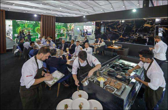 Top Chefs Serve Up a True Taste of World and a Slice of the Future at Gulfood 2020