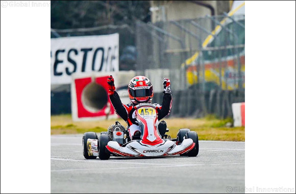 Rashid Claims Big Karting Victory in Italy On Ladder to F1