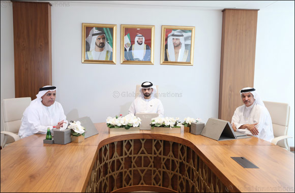 HH Sheikh Mansour bin Mohammed Visits Dubai Sports Council