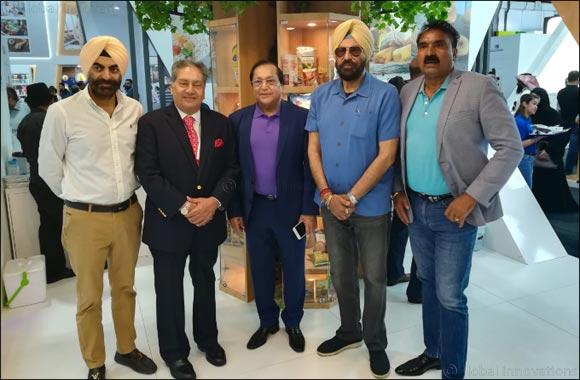 Visit of Punjab Minister at Al Maya Stand @ Gulfood 2020
