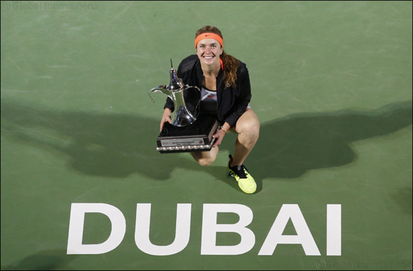 Simona Halep Survives a Thriller At Dubai Duty Free Tennis Championships