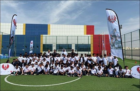 UAE Team Emirates' Stars Surprise Abu Dhabi School Children Ahead of UAE Tour