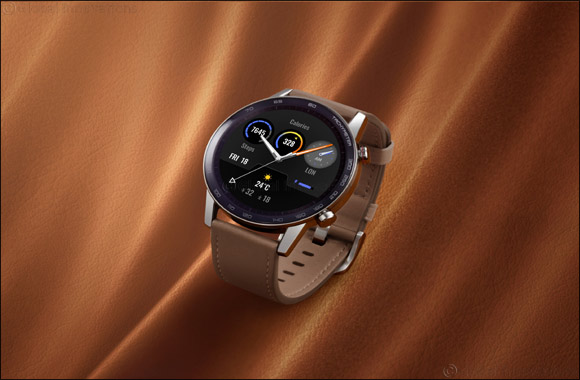 Step Up Your Fashion Game with the Sleek HONOR MagicWatch 2