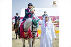 Sheikh Nahyan Bin Mubarak Al Nahyan Crowns the Winners of the International Ladies Category on the F ...