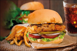 The Big Grill Burgers � Latest Addition to Max's All About Chicken Menu