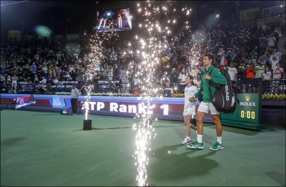 Novak Djokovic and Stefanos Tsitsipas To Meet In Dubai Duty Free Tennis Championships Final
