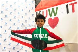 Burgan Bank Celebrates the Festive Month of February with the Children of Autism Partnership Kuwait  ...
