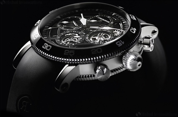 Chronoswiss Chronograph Skeleton – Breezy Style and Sporty Design