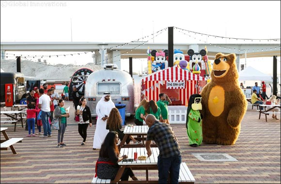The Foodie Carnival Returns to Dubai's Waterfront Market as part of Dubai Food Festival