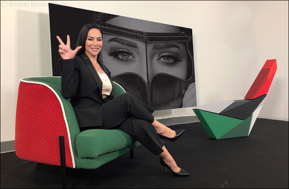 Ambassador of Arab Culture Benedetta Paravia takes  H.H. Sheikh Mohammed's WIN VICTORY LOVE  Gesture to International Platforms