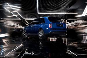 Rolls-Royce Black Badge Cullinan Dominates the Night