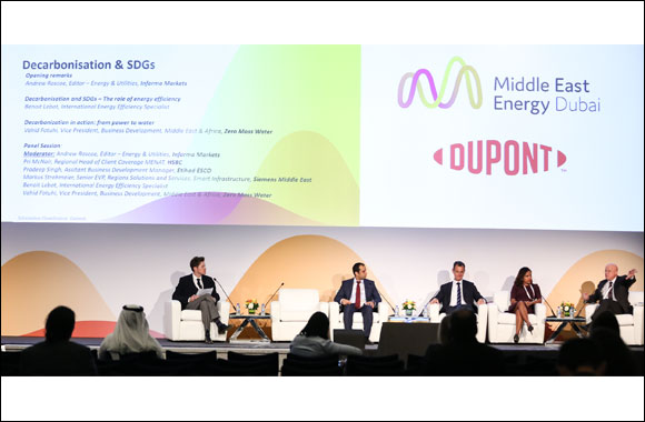 UAE's Energy for Greater Efficiency Can Propel Region Towards a Sustainable Future, Industry Experts Tell Middle East Energy 2020