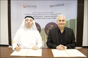 Germany's Sch�co International KG Signs Rental Contract with SAIF Zone to Lease 14 Warehouses