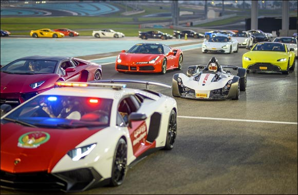 Supercar Owners Descend on Yas Marina Circuit for Unrivalled Pirelli P Zero Experience