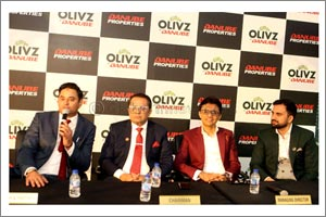 Danube Properties Announces the Launch of the Dh400 Million Olivz � the First Project Announcement i ...