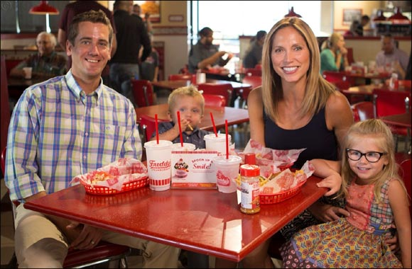 Family Day Every Tuesday at Freddy's Frozen Custard & Steakburgers in Nakheel Mall Kids Eat For Free