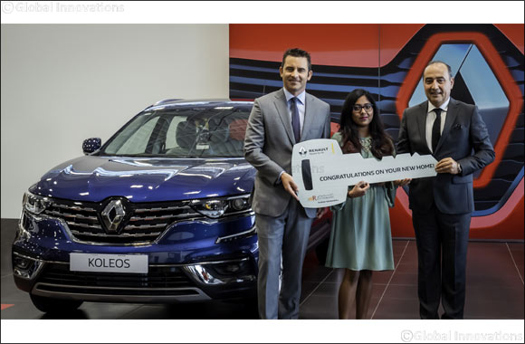 Renault of Arabian Automobiles Reveals Lucky Winner of Brand-New Home