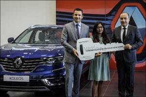 Renault of Arabian Automobiles Reveals Lucky Winner of Brand-New Home