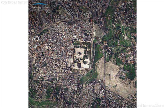 MBRSC Commemorates Isra Wal Mi'raj with A Satellite Picture of Al Aqsa Mosque