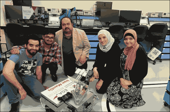 Abu Dhabi University Students Win First and Second Place in EGA Student Industrial AI and Robotics Competition