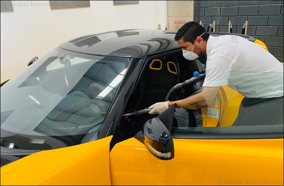 Adamas Motors LLC, One of the First Automotive Dealer's in the United Arab Emirates to Implement a Safety Protocol for Customers in the Fight Against COVID-19.