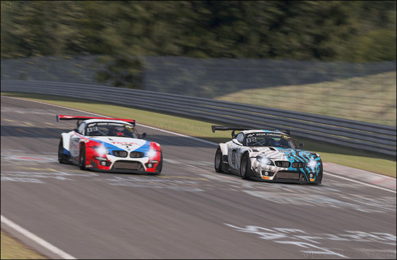 Podium for BMW Works Driver Philipp Eng on the Virtual Nürburgring-Nordschleife.