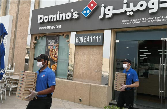 Domino's Pizza Showed Appreciation to Dubai Ambulance First Line of Defense