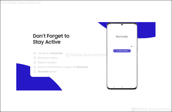 At Home with Galaxy: Reminder Makes It Easy to Stay on Task