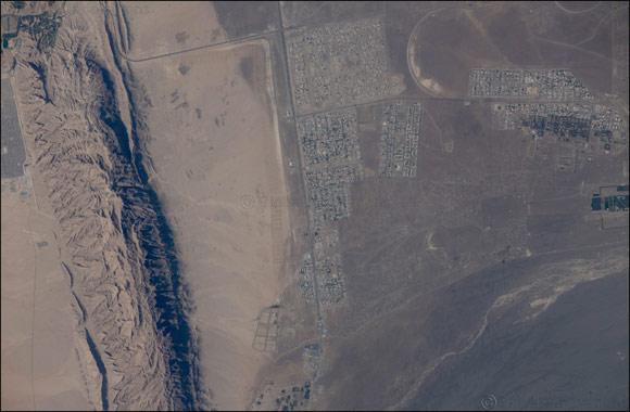 Emirati Astronaut,�Sultan�AlNeyadi, shared a great photo on his social media platforms showing Umm Ghafa