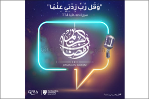 Qatar Finance and Business Academy in Partnership with Northumbria University launches a Ramadan Sho ...