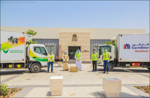 Al Zahia Community Supports Families of Sharjah by Donating Two Tons of Essential Food Items